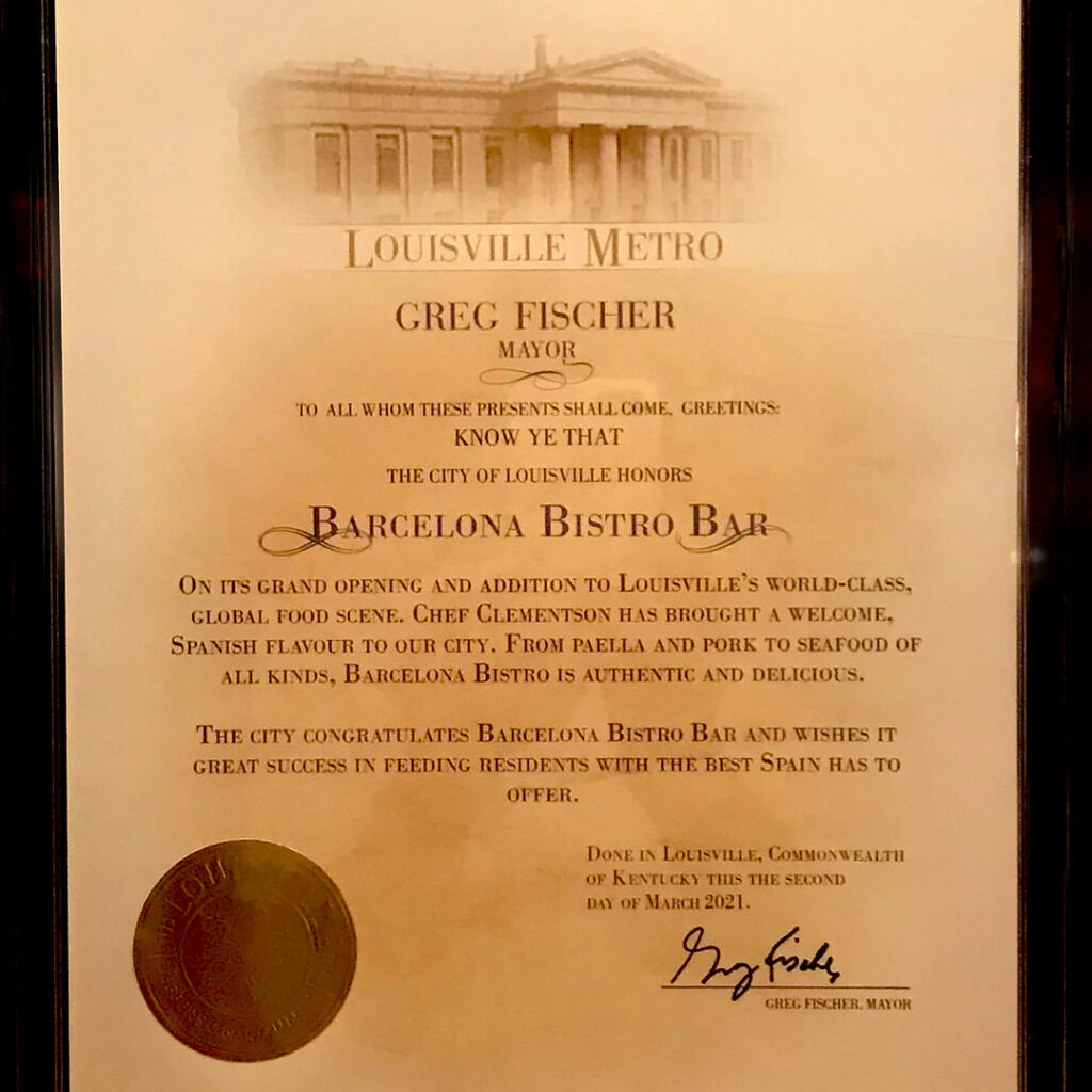 Mayor recognition