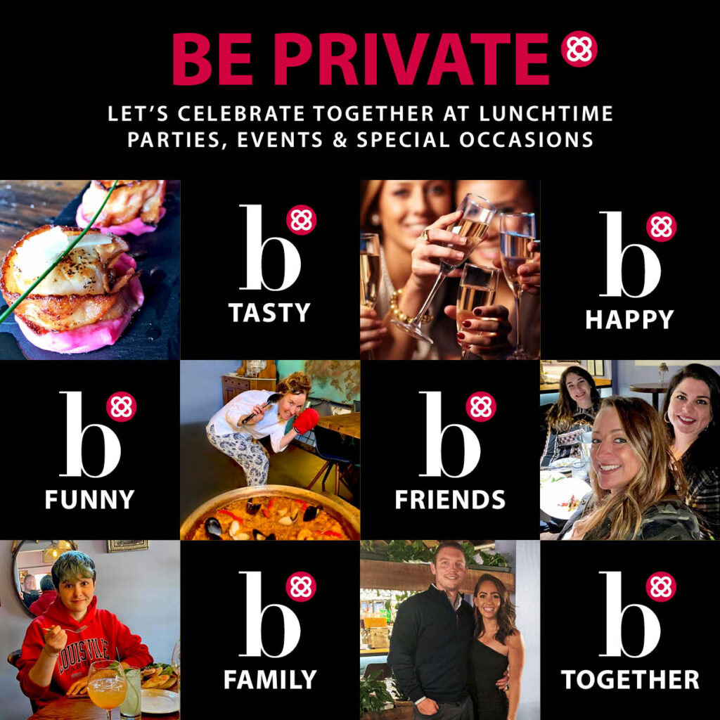 Be private